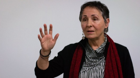 Filmmaker Elaine Brière at Kwantlen Polytechnic University