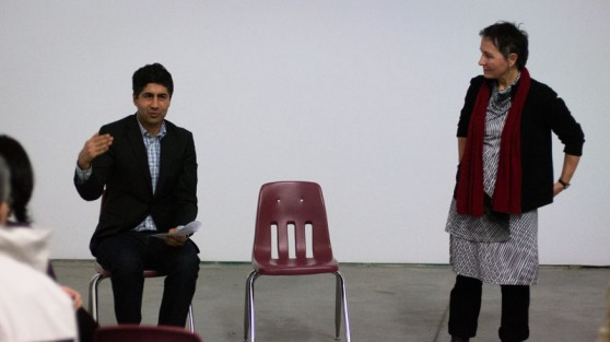 A.S. Dhillon and Elaine Brière